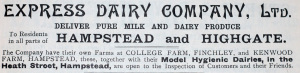 Express Dairy advert