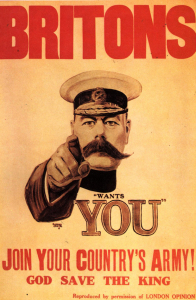 1910s UK Lord Kitchener Poster