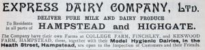 Express Dairy advert