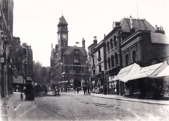 High street and Clock Tower