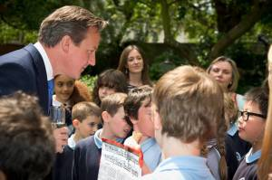 Meeting the PM